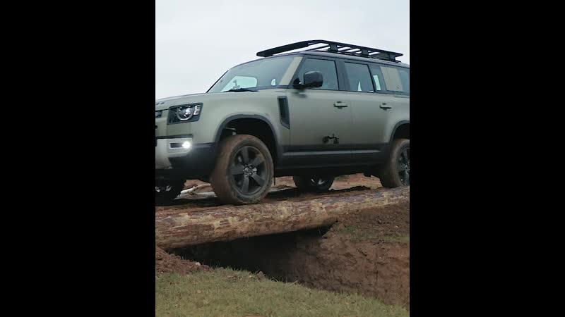 Новый Land Rover Defender   Офф-роуд в Jaguar Land Rover Experience