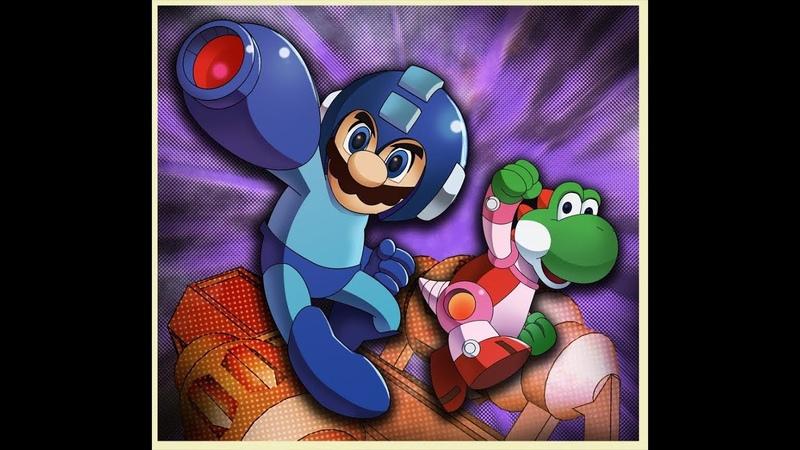 дитя любви марио и мегамен а Super Mario Bros Crossover прохождение нет боль да