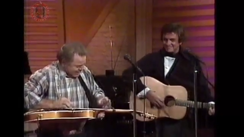 Johnny Cash And Roy Clark Folsom Prison Blues