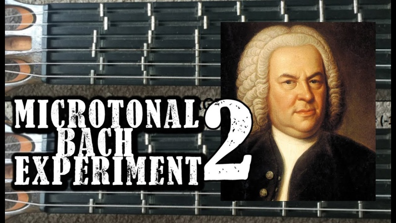 Microtonal Bach Experiment 2 Which Tuning Sounds Better