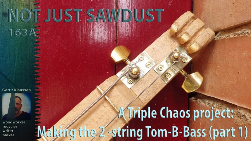 A 2 string bass Modular design ToM B Bass