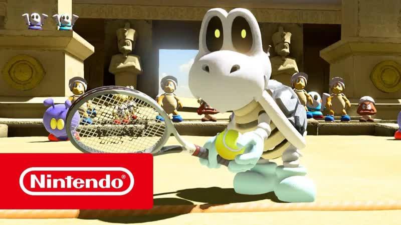 Mario Tennis Aces Купа скелет Nintendo Switch