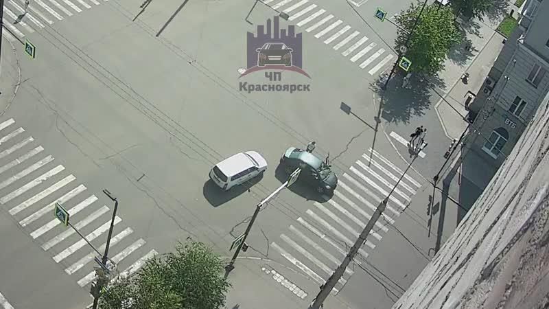 Мира - Робеспьера 23.06.2020 ЧП Красноярск