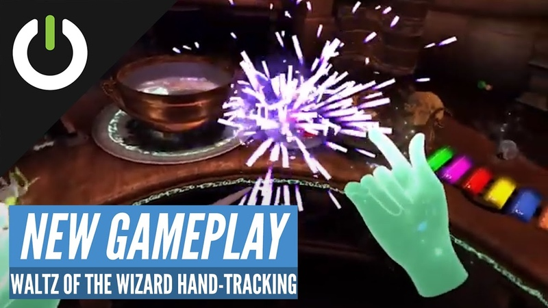 Waltz of the Wizard Oculus Quest Hand Tracking Gameplay (Aldin Dynamics)