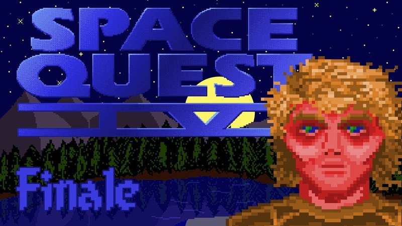 Space Quest IV Roger Wilco and the Time Rippers, Finale