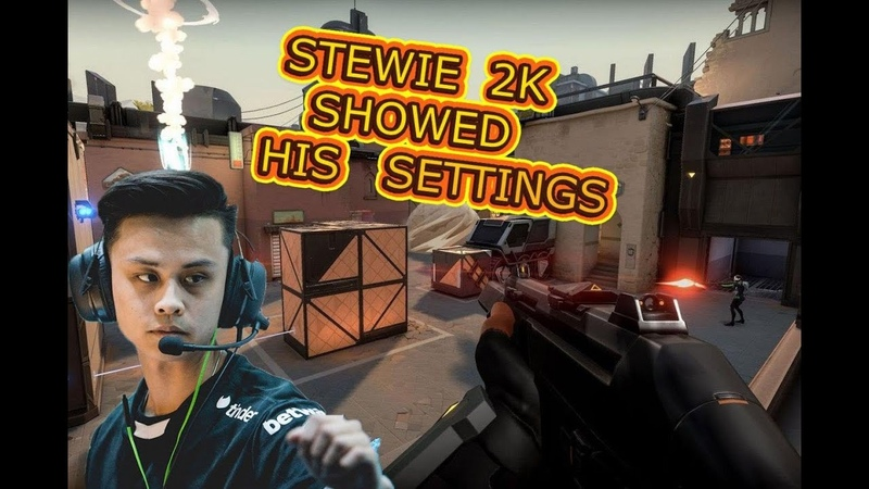 VALORANT BEST MOMENTS 1 STEWIE2K SHOWS HIS SETTINGS INSANE ACE BY OMEN