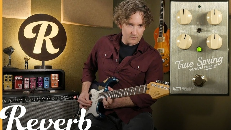 What's the Difference Source Audio's True Spring v Amp Spring Reverb Reverb Tone Report