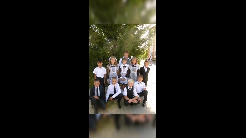 Видео из фотографий учащихся 9 класса МБОУ СОШ с Орлик Чернянского района Белгородской области