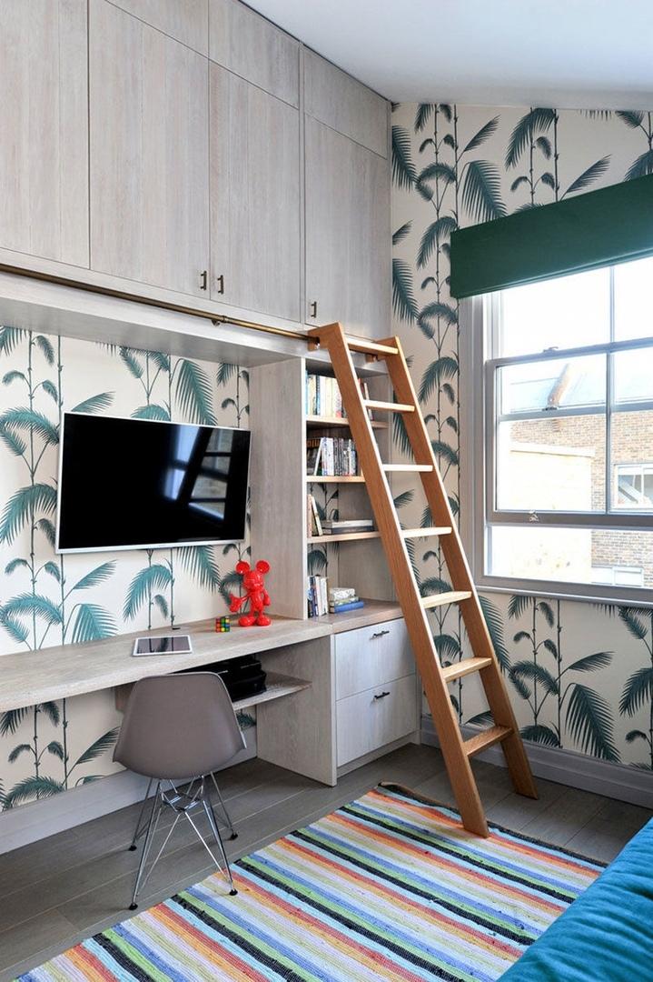 Яркий дизайн дома для семьи в Лондоне || 02