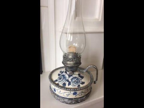 Новая жизнь старым вещам Новый облик керосиновой лампы