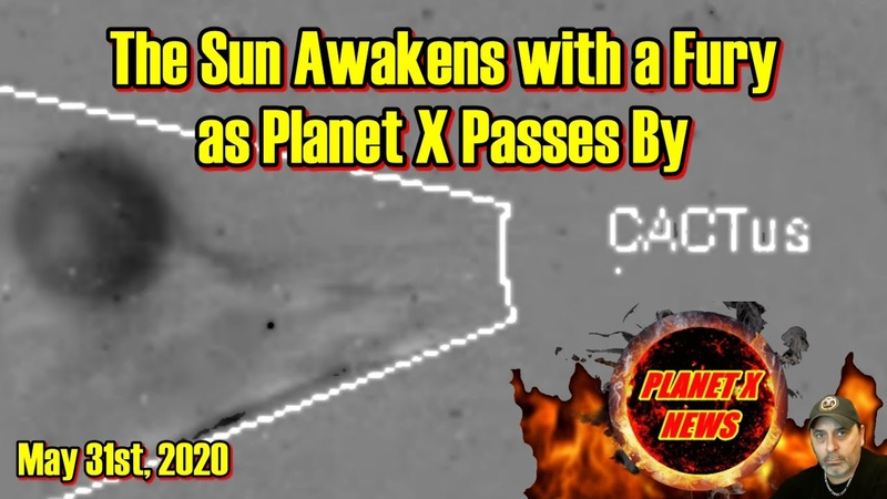 The Sun Awakens with a Fury as Planet X Passes By