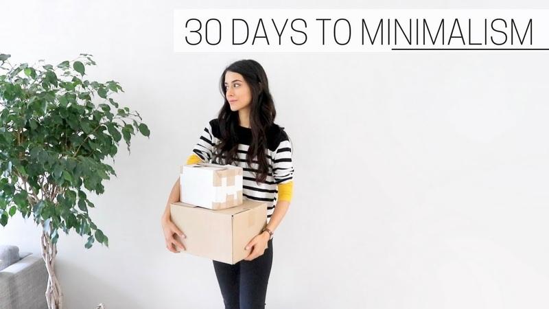 30 DAYS TO MINIMALISM printable guide