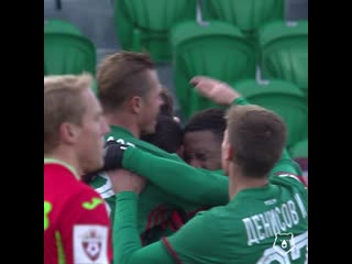 Первый гол Джефферсона Фарфана за Локомотив