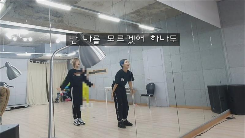 [걸그룹생존기]팝핀 연습하는데 띵곡들이 방해()해요🤪핫플레이스배드키즈제제소민badkizsominhotplacejeje