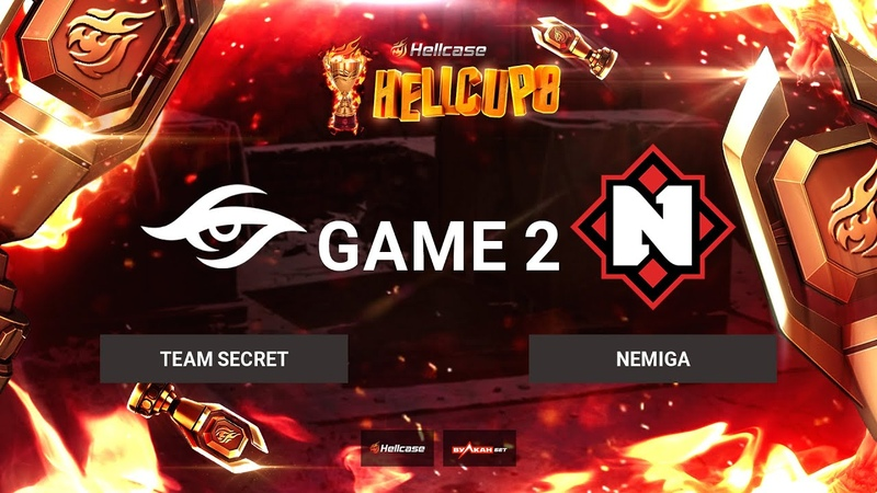 RU Team Secret vs Nemiga Карта 2 Nuke BO3 Hellcase Cup 8 Группа C