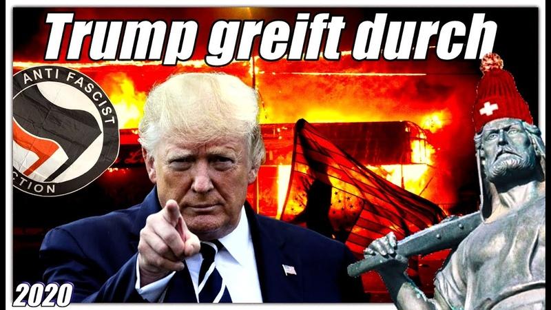 Trump greift hart durch | ANTIFA die Terrororganisation