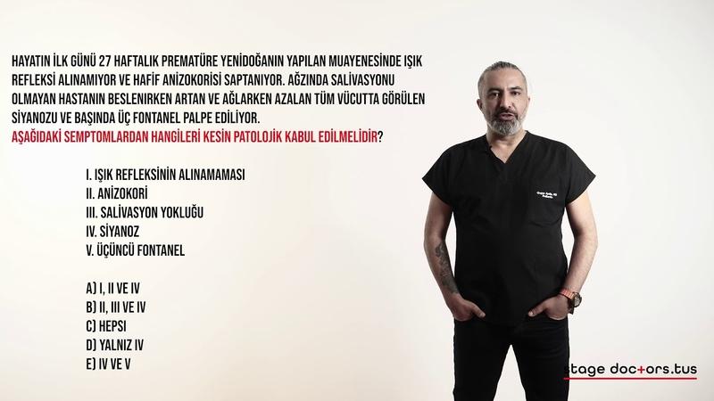 Yenidoğan Soru 3 Pediatri Vaka Kampı