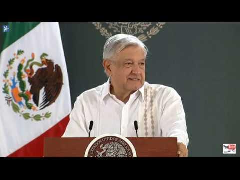 Conferencia Presidente AMLO Lunes 1 Junio 2020 Cancún Quintana Roo 😷😷😷 Video HD