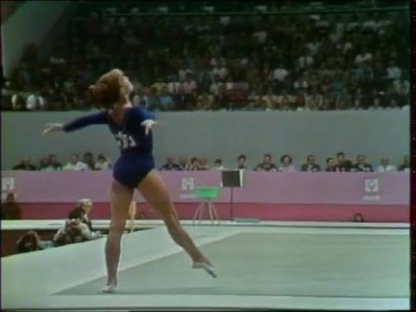 TO 1968 Olympic Games URS Natalia Kuchinskaya FX