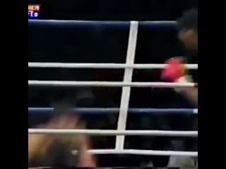 Цзю поднялся после нокдауна и нокаутировал!
