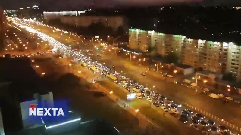 Минск стоит и гудит В Москве каждую пятницу такой митинг в сторону области