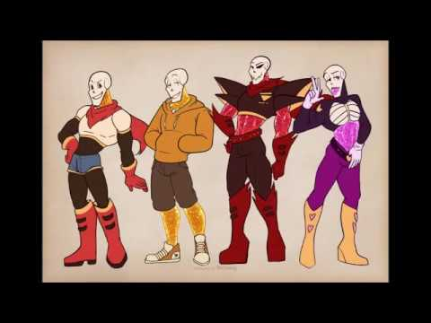 Underlust Papyrus Sexy and I Know It