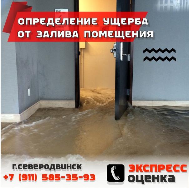 независимая экспертиза ущерба от залива квартиры