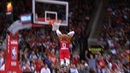 Russell Westbrook makes 3 big mistakes in a row blows 2 dunks Rockets vs 76ers