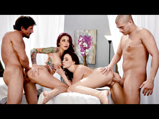 Chanel Preston & Monique Alexander - Lets Get Facials (Русские с