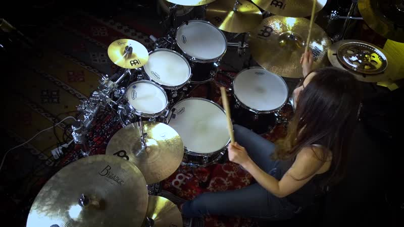 NIRVANA COME AS YOU ARE DRUM COVER BY MEYTAL COHEN