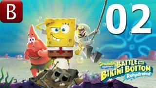 SpongeBob SquarePants: Battle for Bikini Bottom — Rehydrated ➤ 02 КОРОЛЬ МЕДУЗ И РОБОТЫ