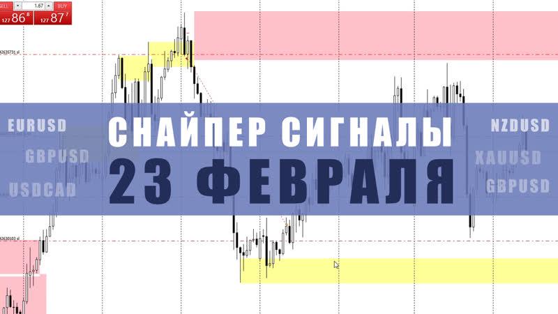 СИГНАЛЫ СНАЙПЕР НА 17 ФЕВРАЛЯ | Трейдер Максим Михайлов