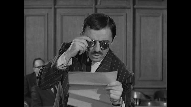 Семейка Аддамс 1964 1966 S01E21 Семейка Аддамс в суде