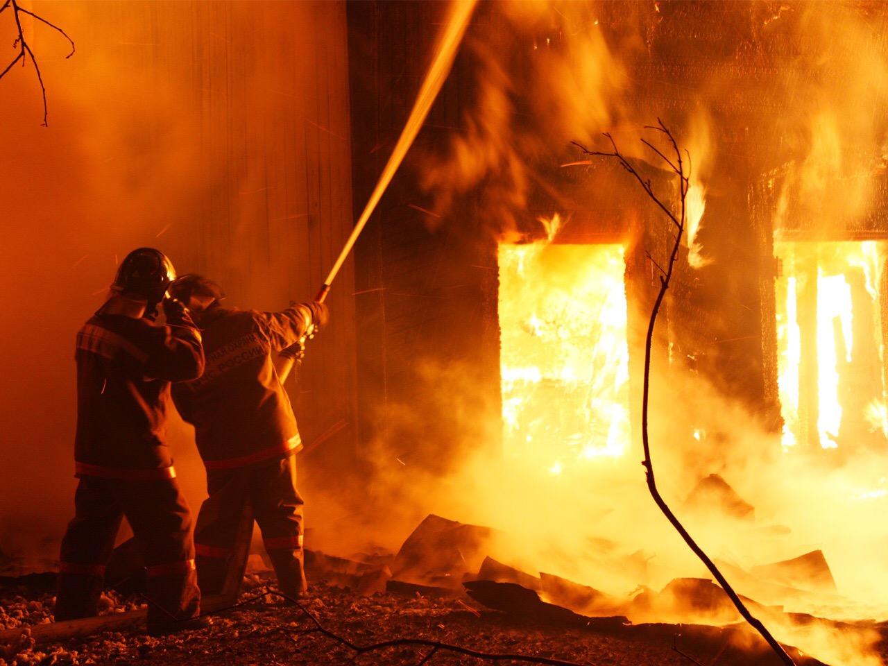 На агроусадьбе «Ранчо» в д. Афанасово случился пожар, есть пострадавший