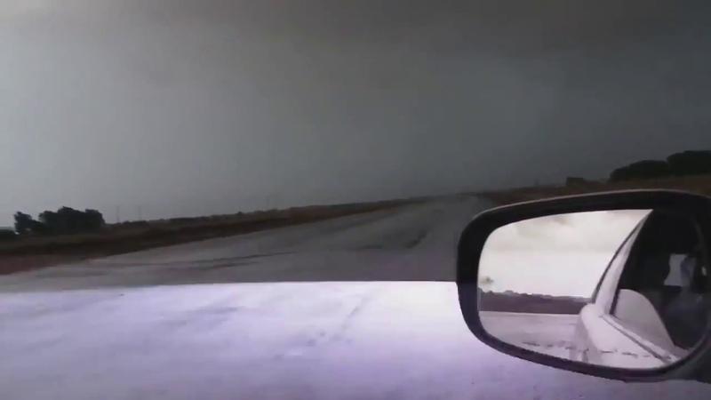 A Lightning struck a bit too close
