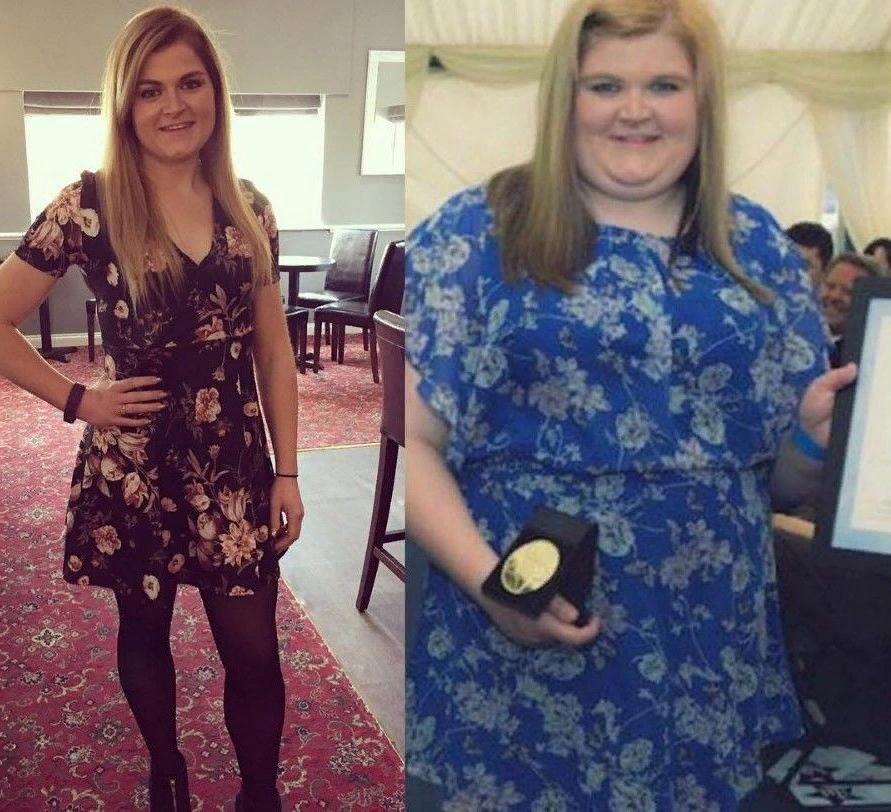 Перед свадьбой похудела на целых 60 кг
