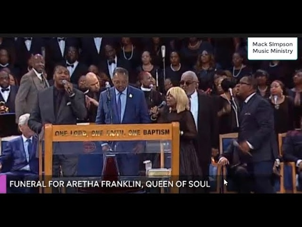 Vanessa Bell Armstrong and The Williams Brothers TEAR IT UP at Aretha Franklin's Funeral