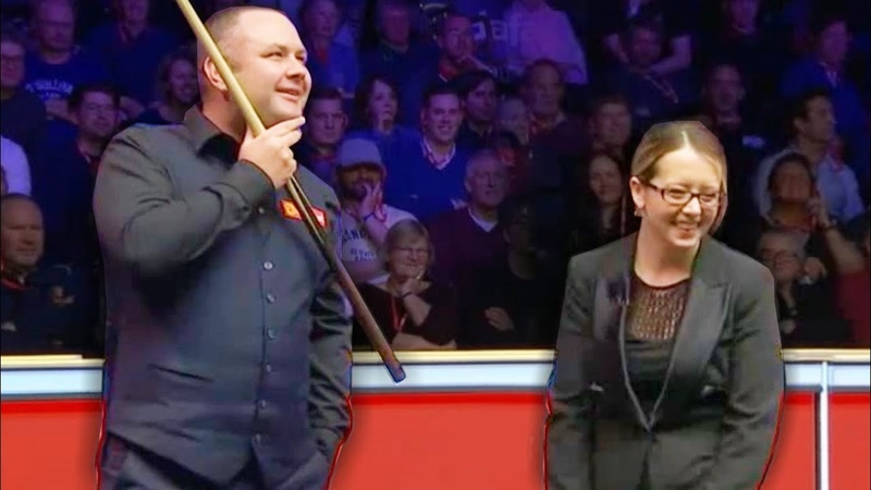 AMAZING LUCKY SHOTS FUNNY MOMENTS Snooker Masters 2020