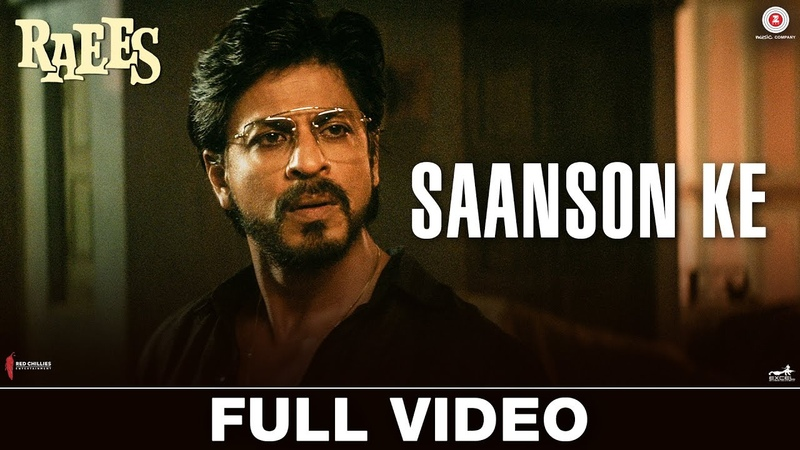 Saanson Ke Full Video Raees Shah Rukh Khan Mahira Khan KK Aheer for JAM8