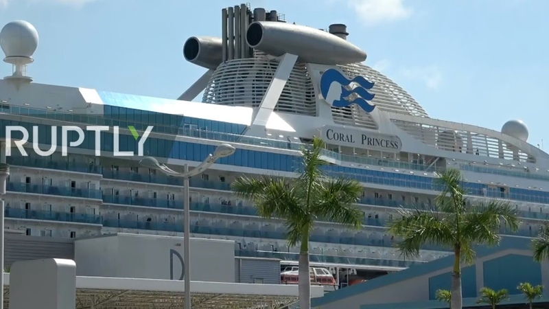 Live from Miami as coronavirus hit Coral Princess cruise ship set to arrive