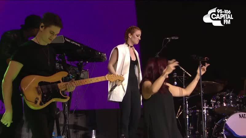 Jess Glynne Hold My Hand Live on The Capital Jingle Bell Ball 2015
