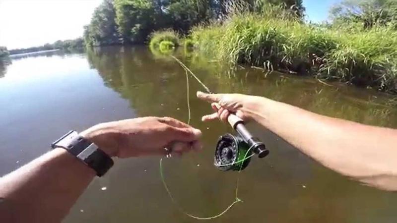 Pêche a la mouche dans la Loire