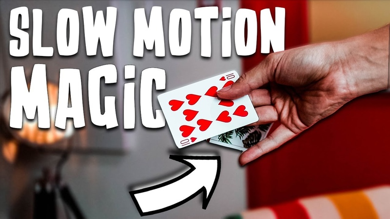 EXPERT Sleight of Hand in SLOW MOTION
