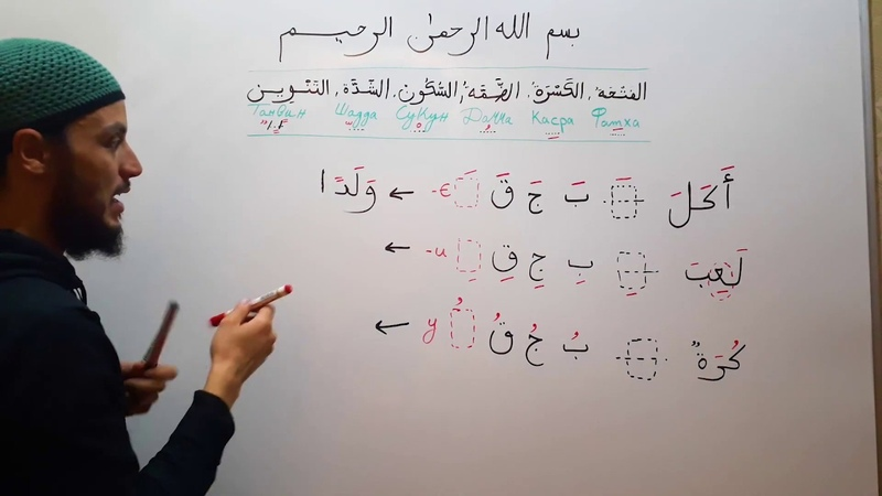 Учимся правильно читать и писать огласовки (Харакат)( №4)