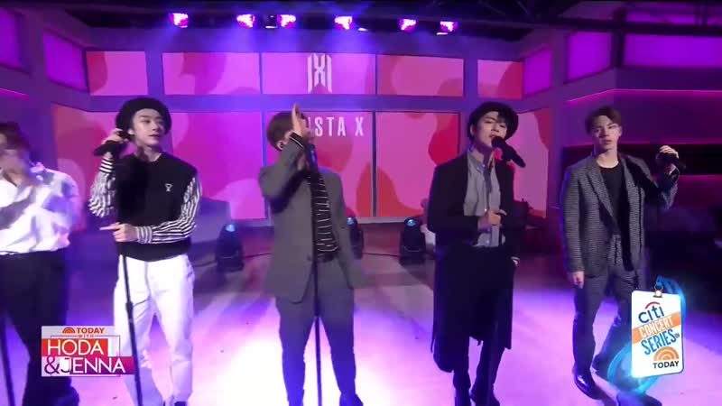[VK][20.02.2020] NBC TODAY with Hoda Jenna - MONSTA X Full ep. (Performing You Cant Hold My Heart)