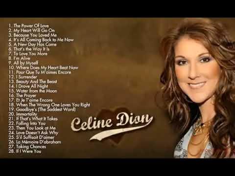 LAGU INI ENAK BANGET ~Celine Dion~ Greatest Hits My Heart Will GO on I Drove All Night