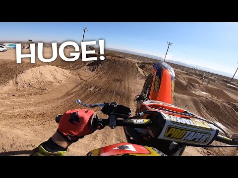 DANGERBOY HITS SUPERCROSS JUMP FOR THE FIRST TIME