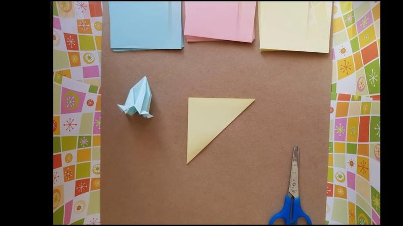 Мастер класс по оригами Кусудама Делаем вместе с ребенком