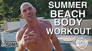 Summer Beach Body w/ Johnny Sins | No Weights, Workout Anywhere