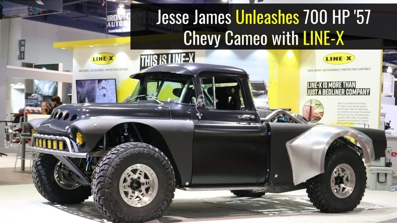 Jessie James Builds '57 Chevy Cameo Baja Truck